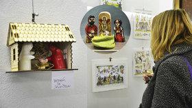 Háčkovaný, železný i ze dřeva: Výstava na Poříčí představuje originální betlémy zlatých českých ručiček