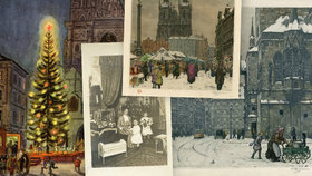 Retro Vánoce v Praze: Takhle lidé slavili, ukazuje výstava. A jaké byly svátky u vás?