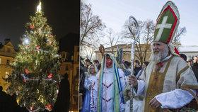 Praha 11 rozsvítí vánoční strom na svátek Mikuláše. Občanům chystá překvapení