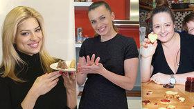 Cukroví podle celebrit: Kuličky Alice Bendové, včelí úly Evy Perkausové i linecké od Saudkové!