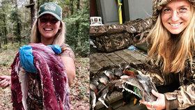Krásná lovkyně se chlubí krvelačnou zábavou: Nepřestane ani kvůli výhrůžkám smrtí