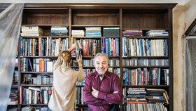 Unikátní foto z Gottovy Bertramky: Igelity proti prachu a Ivana v kožené sukýnce
