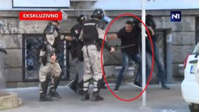 Těžkooděnci surově zbili bratra srbského prezidenta. Vyvázli jen s podmínkou