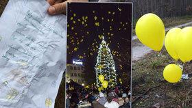 Našli jsme Tomáška, který poslal dopis Ježíškovi na balóncích: Do Polska letěly 400 km