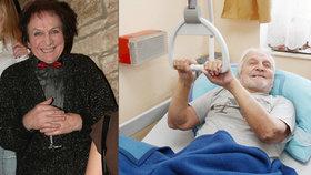 Slavný mim Čejka (81) v domově pro seniory: Nohy neslouží, ale ruce mám silnější!