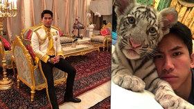 Zlatý trůn a tygři: Brunejský princ Mateen (26) si myslí, že žije jako obyčejný člověk