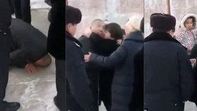 Srdceryvné video: Muž (†30) odsouzený na smrt se loučí s rodinou, malá dcerka to nechápe