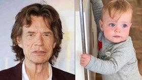 Nejmladší syn Micka Jaggera je jako andílek! Podobá se vůbec tátovi?