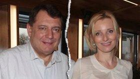 Petra a Jiří Paroubkovi před rozvodem: Jak se podělí o dceru na Štědrý večer?