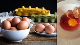 Rozklepli jste krvavá vajíčka? Pozor na ně, varují odborníci