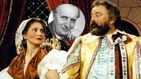 Pohádka Byl jednou král: Marušku si vybral Werich! Sám vyfoukl roli Smolíkovi