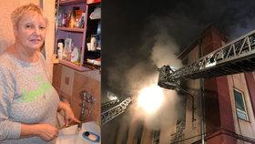 Zmrzlí a nemytí kvůli požáru Karnoly: Pod bývalou textilkou totiž vede trativod