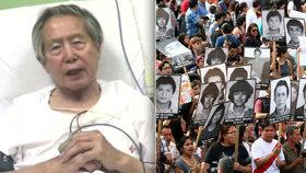 Odpusťte mi, žádá chřadnoucí prezident z nemocnice. Lidé v Peru se bouří