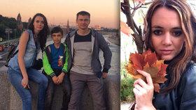Krásnou moderátorku (†29) zastřelil manžel: Smrt mámy viděl vyděšený syn