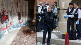 Palba na kostel v Egyptě si vyžádala 10 mrtvých. Je mezi nimi i útočník