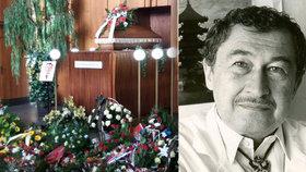 Pohřeb Rajko Dolečka (†92): Přišly lékařské kapacity i velvyslankyně