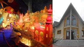 Vyražte se podívat na unikátní betlém v Horní Lidči! Otevřeno mají celý rok