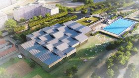 Na koupališti Petynka vyroste do dvou let nový krytý bazén: Za 200 milionů a se surfovou vlnou