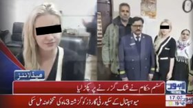 První slova Češky zadržené v Pákistánu s 9 kily drog: Heroin? Řekli mi, že to jsou dárky