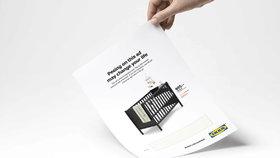 Počůrejte naší reklamu, vyzývá Ikea ženy: Pokud budete těhotné, dostanete slevu