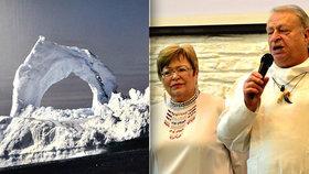 """""""Když Inuité uloví tuleně, dají nám vždycky díl."""" Alena a Jaroslav žijí v Grónsku už 20 let, zimu milují"""