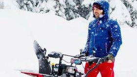 Čím jste vybaveni na zimu? Sněhová nadílka umí potrápit všude.