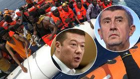 """Okamura řešil ve Sněmovně uprchlíky a """"migrantofily"""". Babiš cestu do pekel"""