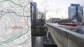Zavřený Libeňský most: Čeká Prahu dopravní kolaps? Podívejte se, kudy vede objížďka pro řidiče a MHD