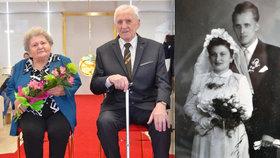 Vlastimila (94) a Vladimír (98) jsou spolu 65 let: Srdce naplněná láskou nic neoddělí