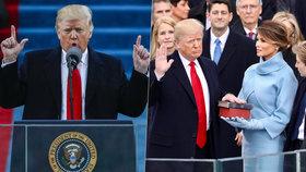 """Přetahovaná o migranty i měření """"čudlíků"""": Trump má za sebou rok v Bílém domě"""