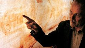Je Ježíšova? Krev na Turínském plátně je z umučené oběti, potvrdila analýza