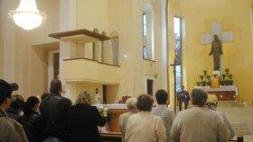 Mše se konala v kostele Nejsvětějšího srdce Ježíšova