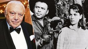 Padouch z Vinnetoua Herbert Lom se před smrtí vrátil do Česka: Chtěl Havlovou!