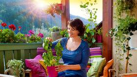 Osázejte si balkon: Zahradu můžete mít i v paneláku!