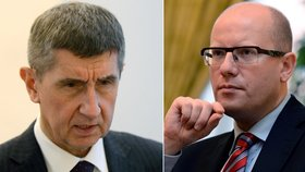 Bohuslav Sobotka sAndrejem Babišem se neshodli na budoucnosti karence