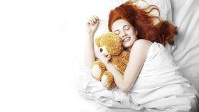 Poloha, v jaké spíte, prozradí hodně z vaší povahy.