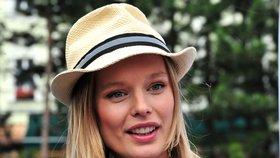 Bývalá modelka Helena Houdová, nyní vyznavačka vitariánství