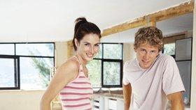 Rekonstrukce bytu svépomocí bude ode dneška hračka