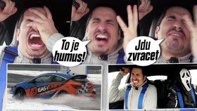 Hysterák týdne: Vladkovi za volantem cukaly nervy strachem! Podívejte se!
