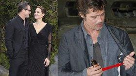 Angelina Jolie a Brad Pitt se po devíti letech vztahu konečně vzali