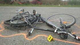 Dodávka u Jindřichova Hradce zabila cyklistu: Řidič ujel, policie po něm pátrá