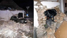 Nehodu ve Velkých Bílovicích způsobil opilý řidič se zákazem řízení.