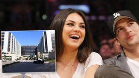 Hollywoodský pár Kunis a Kutcher přivedli na svět dceru!