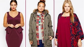 I ženy s pár kilo navíc se mohou oblékat podle poslednách trendů.