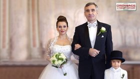 Svatba Zdeny a Davida byla kouzelná. A překrásný je i jejich vztah, ustáli i nevěru.
