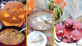 Halloweenské menu potěší především děti, zkrátka ale nepřijdou ani dospělí.