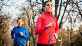 V chladnějším počasí spálíte sportem více kalorií.