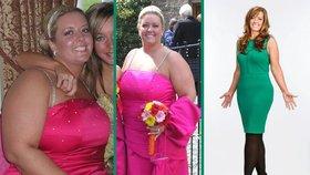 Suzanne MacCrimmon shodila 48 kilo. Z oplácané baculky je teď sexy kočka.