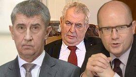 Co říkají politici na Zemanův projev?