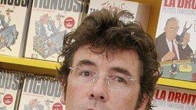 Oběť z redakce Charlie Hebdo: Karikaturista Tignous